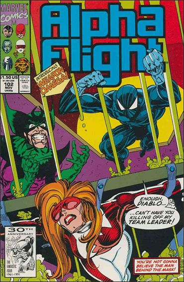 Alpha Flight (1983) 102-A by Marvel