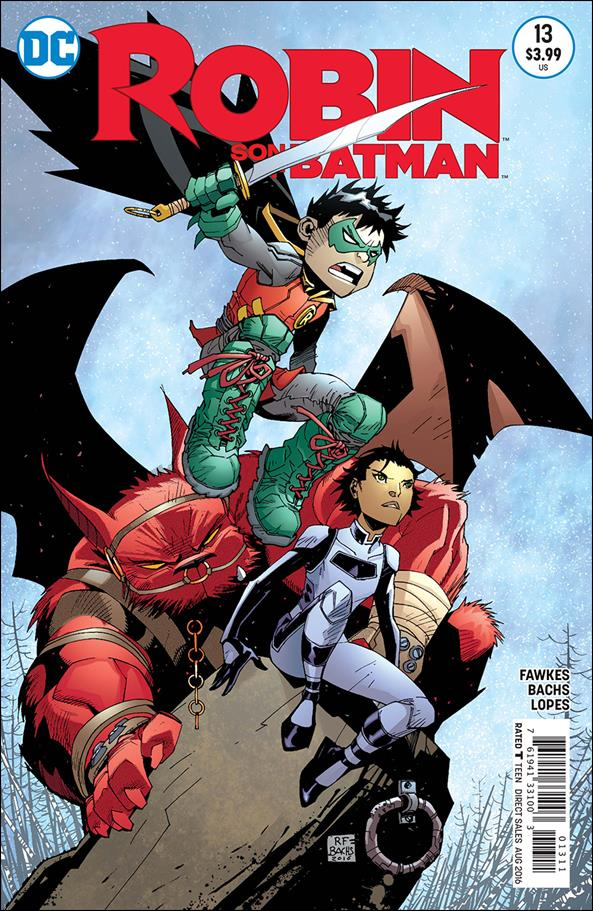 Robin: Son of Batman 13-A by DC