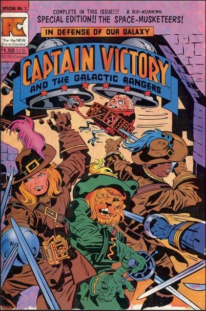 Captain Victory and the Galactic Rangers Special Edition 1-A by Pacific