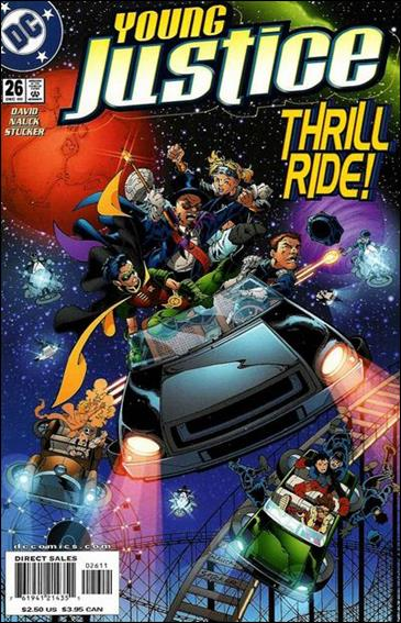 Young Justice (1998) 26-A by DC