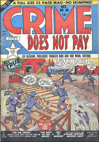Crime Does Not Pay 80-A by Lev Gleason Productions
