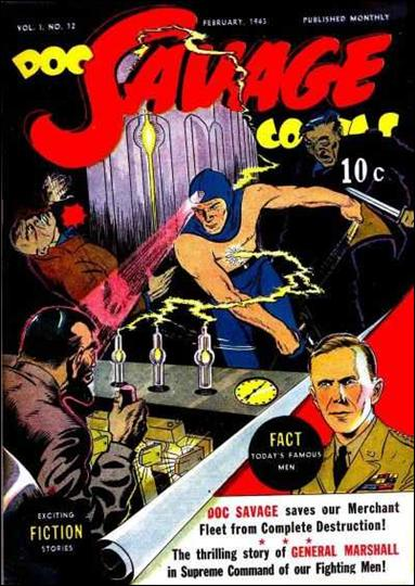 Doc Savage Comics (1940) 12-A by Street and Smith Publications