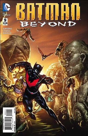 Batman Beyond (2015) 9-A