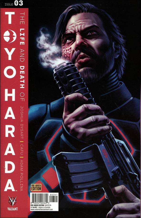 Life and Death of Toyo Harada 3-D by Valiant Entertainment
