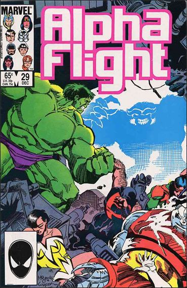 Alpha Flight (1983) 29-A by Marvel