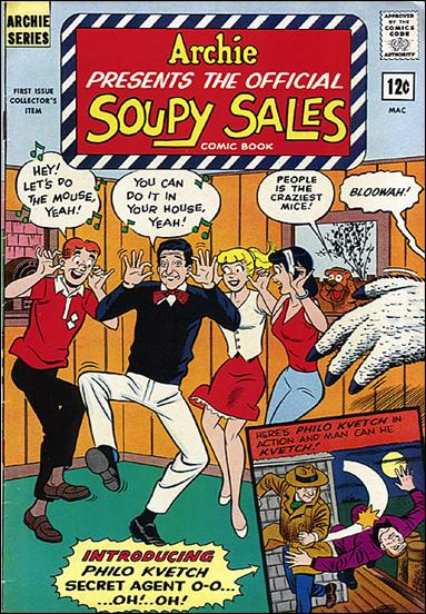 Soupy Sales Comic Book 1-A by Archie