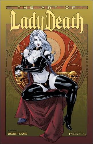 Art of Lady Death 1-A by Boundless Comics