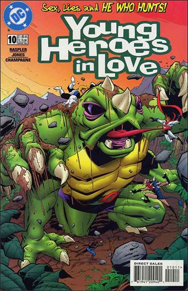 Young Heroes in Love 10-A by DC