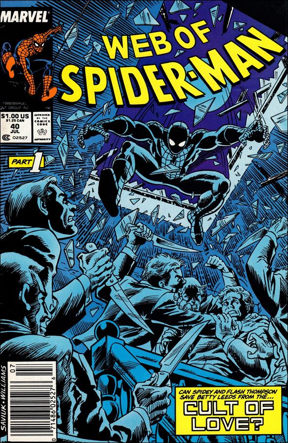 Web of Spider-Man (1985) 40-A by Marvel