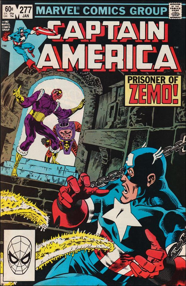 Captain America (1968) 277-A by Marvel