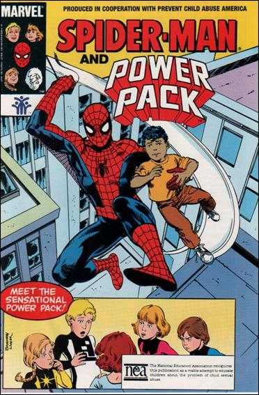 Spider-Man, Power Pack 1-E by Marvel