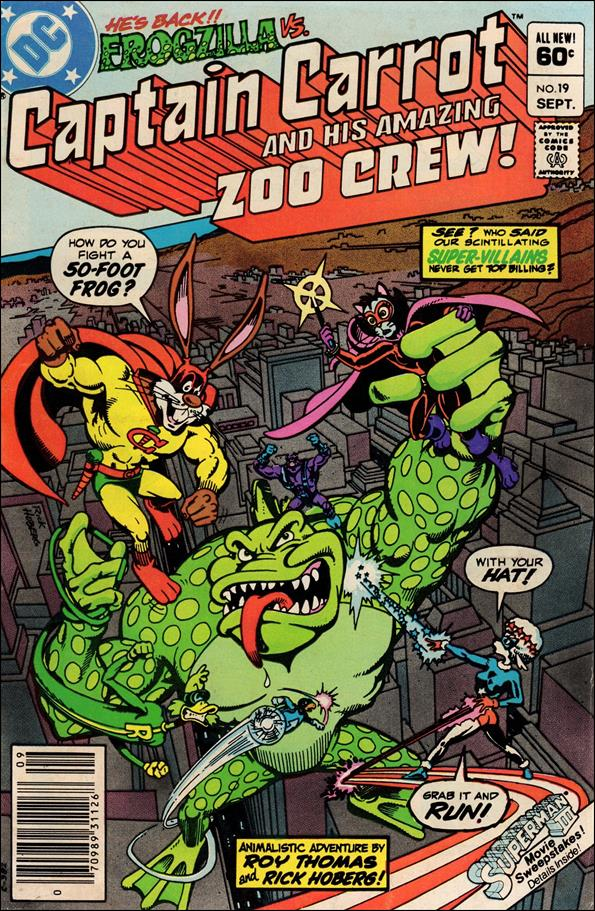 Captain Carrot and His Amazing Zoo Crew 19-A by DC