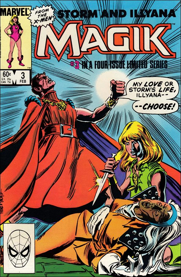 Magik (1983) 3-A by Marvel