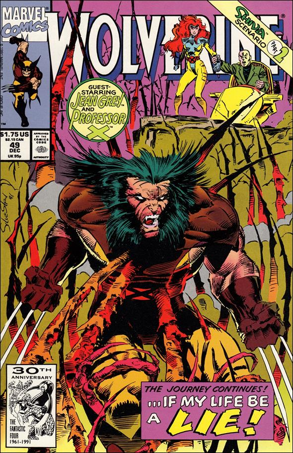 Wolverine (1988)  49-A by Marvel