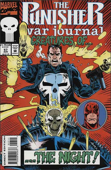 Punisher War Journal (1988) 57-A by Marvel