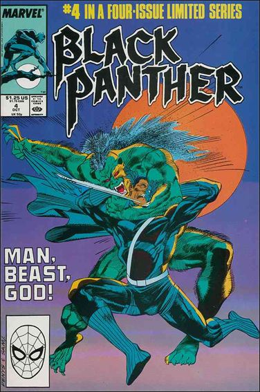Black Panther (1988) 4-A by Marvel