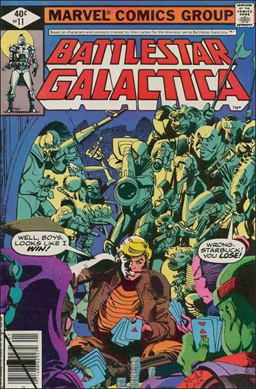 Battlestar Galactica (1979) 11-A by Marvel