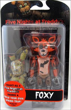 Five Nights At Freddy's (Spring Trap Series) Foxy