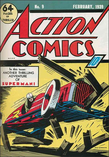 Action Comics (1938) 9-A by DC