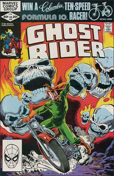 Ghost Rider (1973) 65-A by Marvel