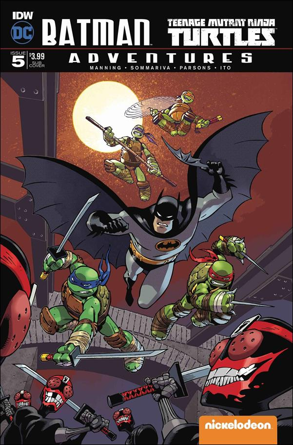 Batman/Teenage Mutant Ninja Turtles Adventures 5-B by IDW