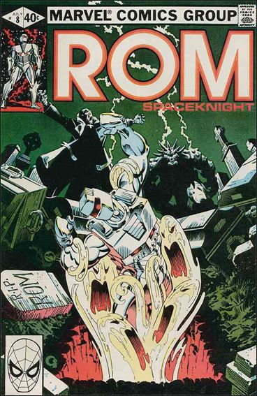 ROM (1979) 8-A by Marvel