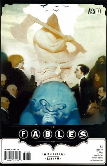 Fables 93-A by Vertigo