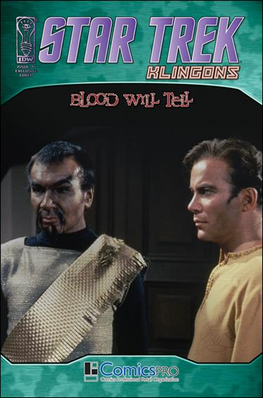 Star Trek: Klingons: Blood Will Tell 1-E by IDW
