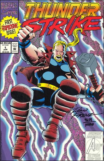 Thunderstrike (1993) 1-B by Marvel