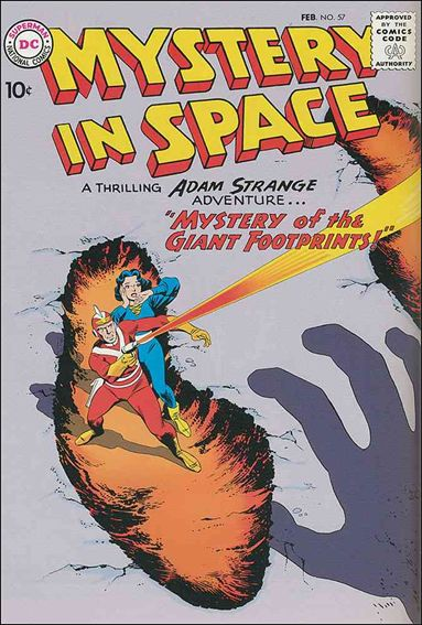 Mystery in Space (1951) 57-A by DC