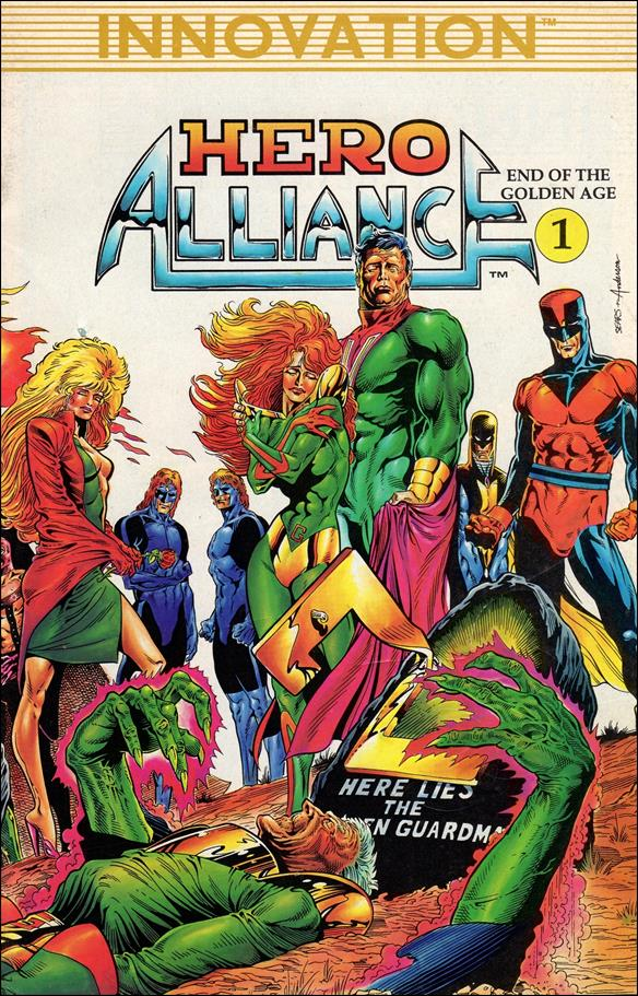 Hero Alliance: End of the Golden Age 1-A by Innovation