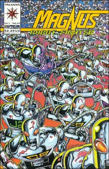 Magnus Robot Fighter (1991) 29-A by Valiant