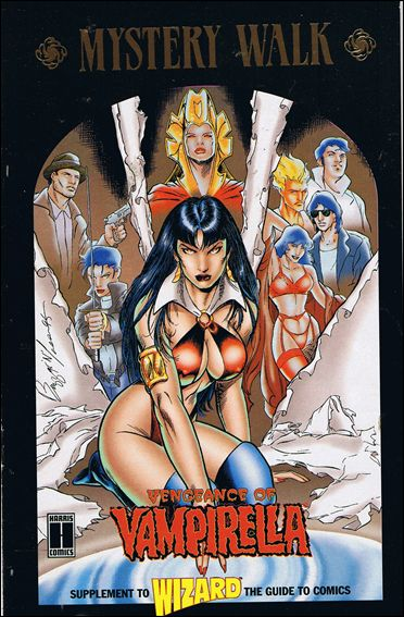 Mystery Walk: Vengeance of Vampirella 1-B by Harris