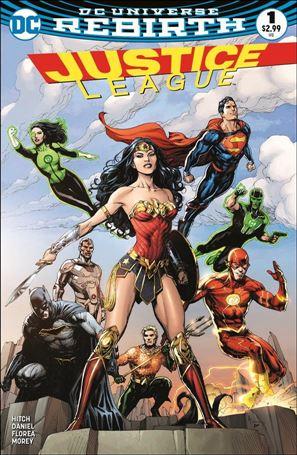 Justice League (2016) 1-M