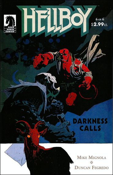 Hellboy: Darkness Calls 6-A by Dark Horse