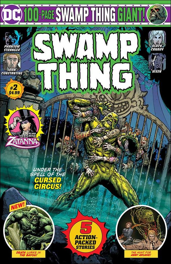 Swamp Thing Giant  (08/2019) 2-B by DC