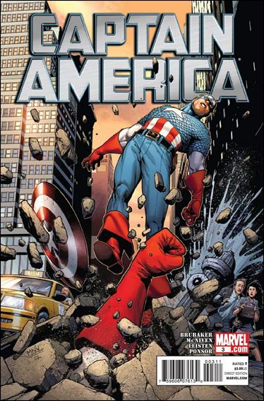 Captain America (2011) 3-A by Marvel