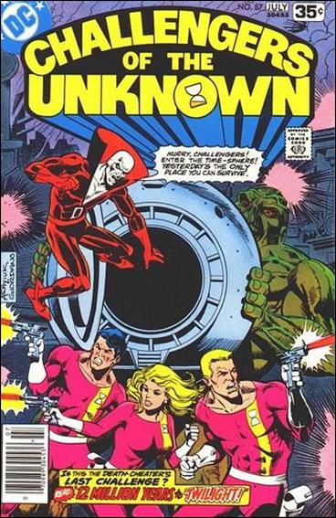 Challengers of the Unknown (1958) 87-A by DC