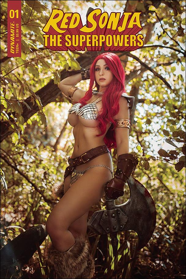 Red Sonja: The Superpowers 1-E by Dynamite Entertainment