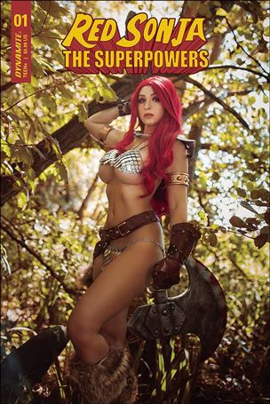 Red Sonja: The Superpowers 1-E