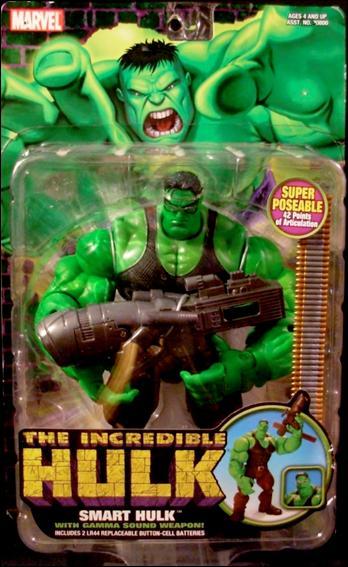 incredible hulk smart hulk  jan 2004 action figure by toy biz