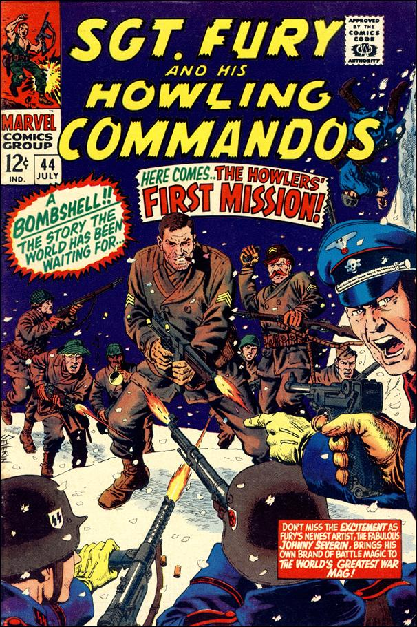 Sgt. Fury and His Howling Commandos 44-A by Marvel