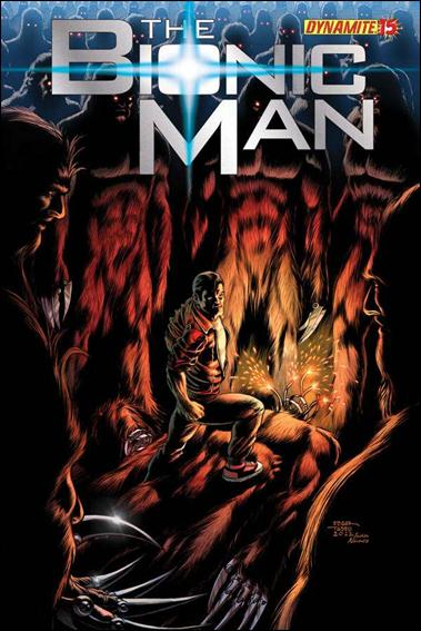 Bionic Man 15-B by Dynamite Entertainment