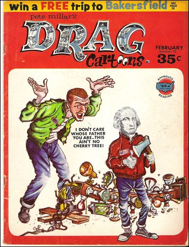 Drag Cartoons (1963) 12-A by Millar