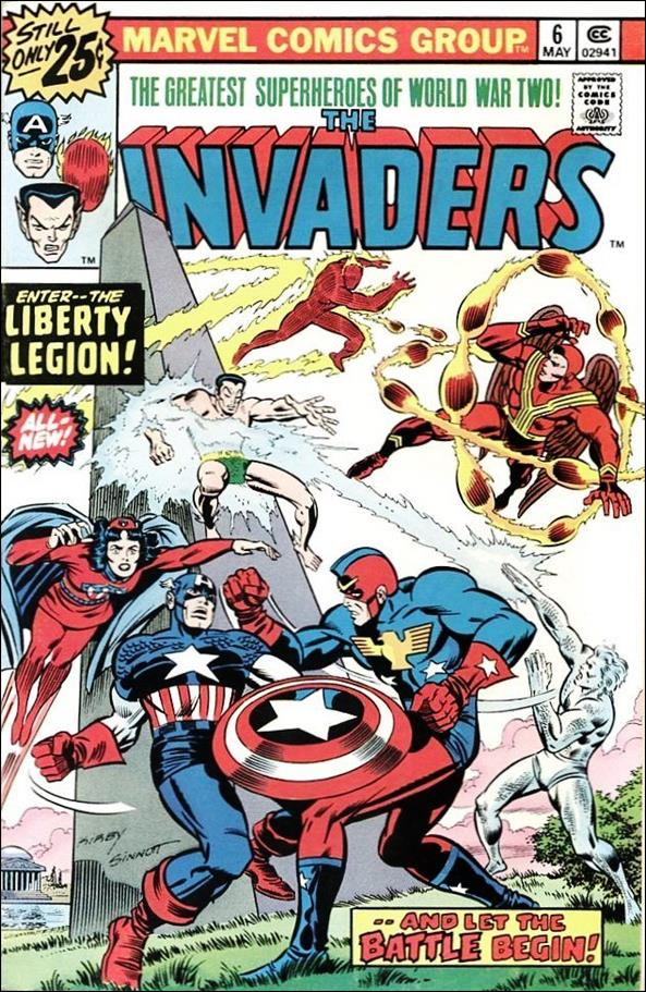 Invaders (1975) 6-A by Marvel