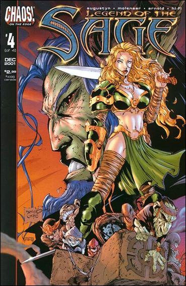 Legend of the Sage 4-A by Chaos! Comics