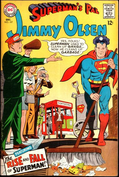 Superman's Pal Jimmy Olsen 107-A by DC