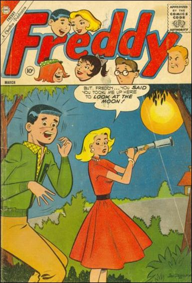 Freddy (1958) 27-A by Charlton