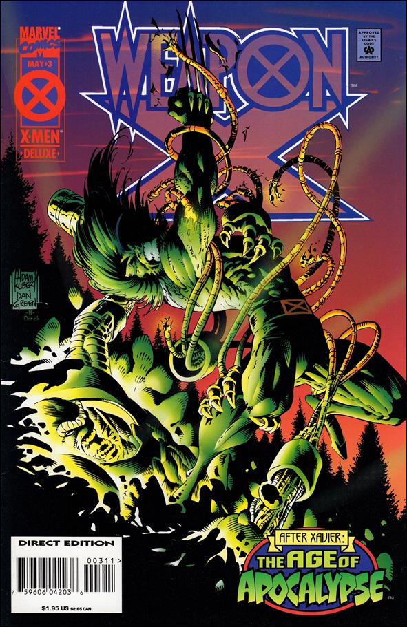 Weapon X (1995) 3-A by Marvel