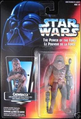 "Star Wars: The Power of the Force 2 3 3/4"" Basic Action Figures Chewbacca (Canadian) by Kenner"